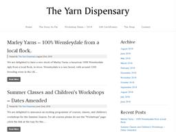 The Yarn Dispensary shopping