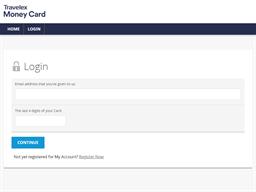 Travelex gift card balance check