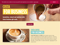 Costa Coffee For Business shopping