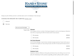 Hand and Stone Massage and Facial Spa gift card purchase