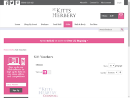 St Kitts Herbery gift card purchase
