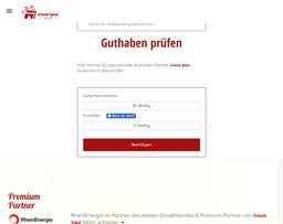 Schenk Lokal gift card balance check