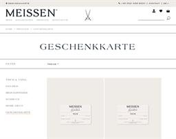 Meissen gift card purchase