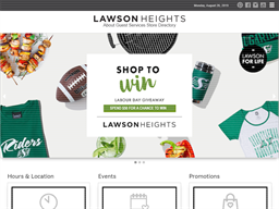 Lawson Heights Mall shopping