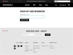 Converse gift card balance check