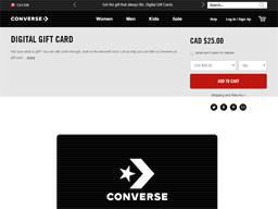 Converse gift card purchase