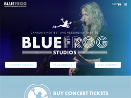 Blue Frog Studios shopping