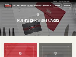 Ruths Chris Steak House gift card purchase