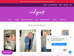 Real Spirit Womens Boutique shopping