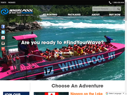 Whirlpool Jet Boat Tours shopping