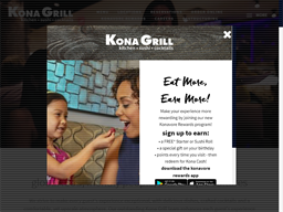 Kona Grill shopping