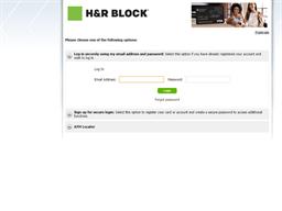 H&R Block gift card balance check