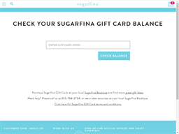 Sugarfina gift card balance check