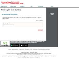 Vancity Community Investiment Bank gift card balance check