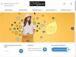 Les Galeries Chagnon shopping