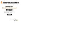 North Atlantic gift card balance check