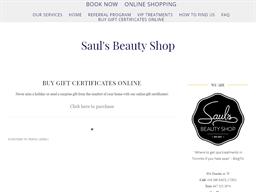 Saul's Beauty Shop gift card purchase