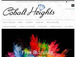 Cobalt Heights shopping