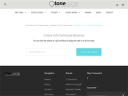 Tone Lounge gift card balance check