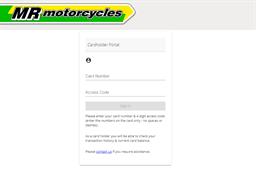 Mr Motorcycles gift card balance check