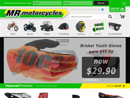 Mr Motorcycles shopping
