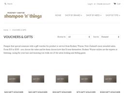 Rodney Wayne Shampoo gift card purchase