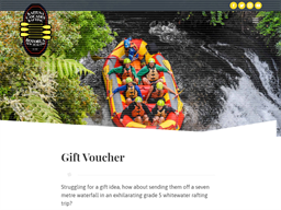 Rafting Rotorua gift card purchase