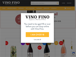 Vino Fino shopping