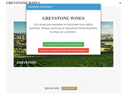 Greystone Wines gift card purchase