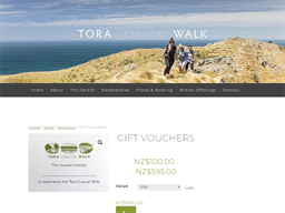 Tora Coastal Walk gift card purchase