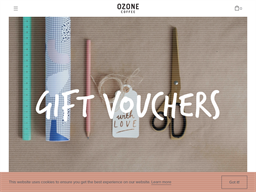 Ozone Coffee Roasters gift card purchase