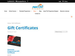 Puff Fitness gift card purchase