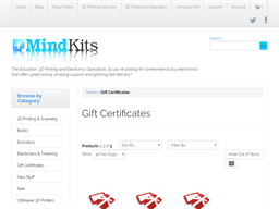 Mind Kits gift card purchase