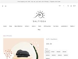Saltysea gift card purchase