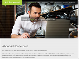 Ask Bartercard gift card purchase