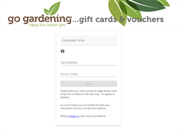 Moores Valley Nurseries gift card balance check