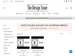 The Design Store gift card purchase