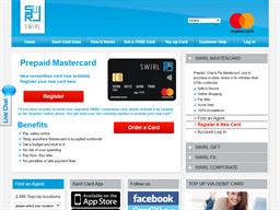 Swirl MasterCard shopping