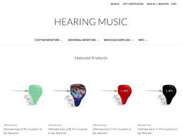Hearing Music shopping
