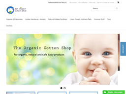 The Organic Cotton Shop shopping