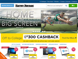 Harvey Norman shopping