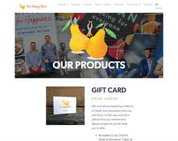 The Happy Pear gift card purchase