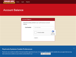 Genghis Grill gift card balance check