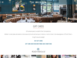The River Club Cork gift card purchase