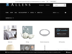 Allens shopping