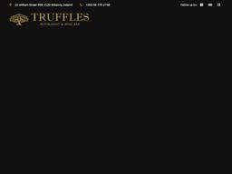 Truffles Restaurant and Wine Bar shopping