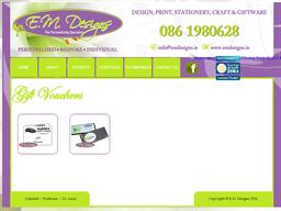 E.M. Designs gift card purchase