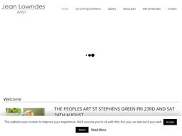 Jean Lowndes Art shopping