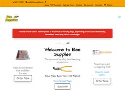 Bee Supplies shopping