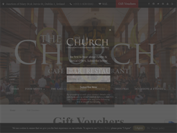 The Church Bar and Restaurant gift card purchase
